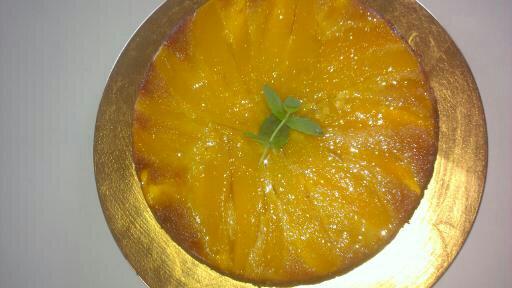 Mango Cake - Cheffing Around